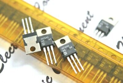 4pcs - HARRIS IRF640 TO-220 Transistor - NOS 18A, 200V, 0.18ohm, N-CHANNEL