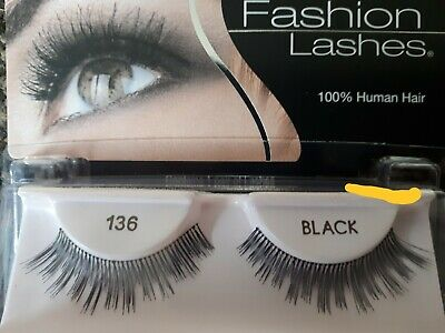 Ardell 136 Fashion Lashes Handmade From 100% Human Hair False Eyelashes