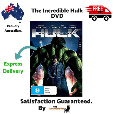 The Incredible Hulk (DVD) Directed by Louis Leterrier with Express Delivery