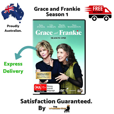 Grace and Frankie: Season One (DVD) Directed by Rebecca Asher - Express Delivery