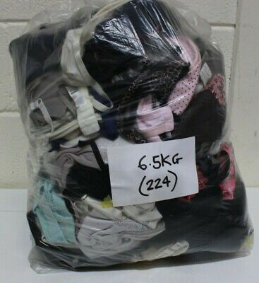 HUGE Job Lot 6.5 KG of Womens BRAS Mixed Sizes and Styles Various Brands - 224