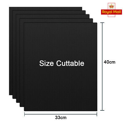 10 BBQ Grill Mat non-stick Oven Liners Teflon Baking Reusable Sheet Pad Barbecue