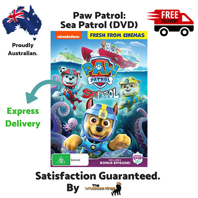 Paw Patrol: Sea Patrol (DVD) Directed by Charles E. Bastien - Express Delivery