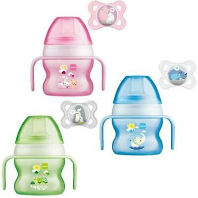 MAM Starter Cup 150ml with 0+ Soother - Pink or Blue