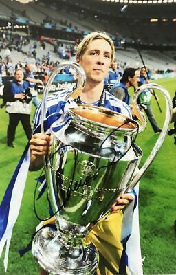 Fernando Torres Autograph - Signed Chelsea Poster Photo + *Certificate*
