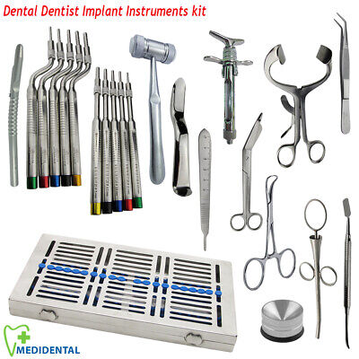 Dental Implant Osteotomes Sinus Lift instruments Surgical Bone Surgery Tools kit