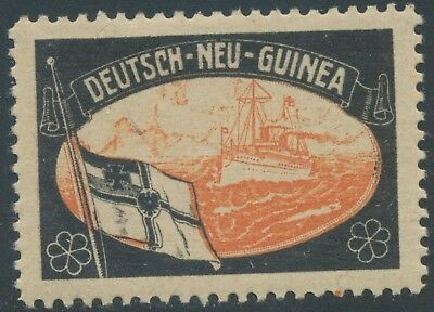 Wwi Deutsch Neuguinea / German New Guinea Cinderella / Vignette Lost Territories