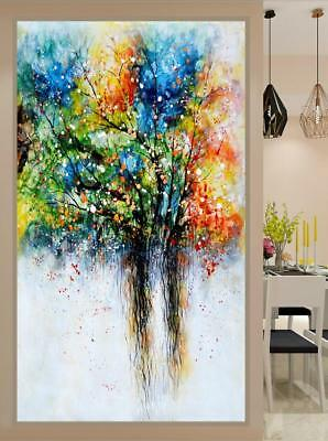 VV208 Large Modern Simple abstract decor oil painting Hand-painted Life Tree