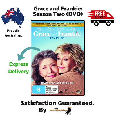 Grace and Frankie: Season Two (DVD) Directed by Rebecca Asher - Express Delivery