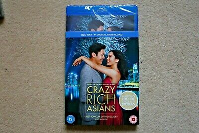 Blu-Ray  Crazy Rich Asians          Brand New Sealed Uk Stock