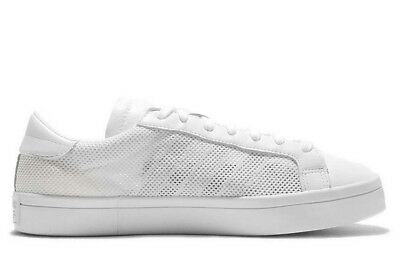 new styles aa903 d3eb7 adidas Originals - Mens Courtvantage Trainers White (S76659)