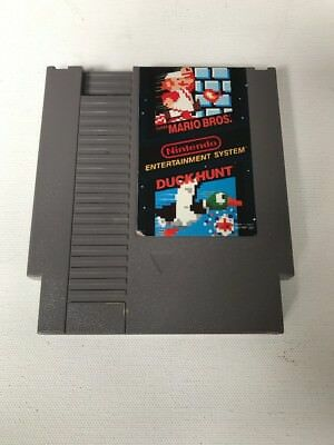 Nintendo NES, SUPER MARIO BROS / Duck Hunt (100% Authentic) Genuine Used Game