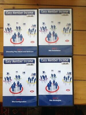 Easy Member Income 4 DVD SET - BRAND NEW SEALED