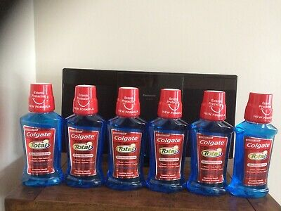 Colgate Total Peppermint Blast Mouthwash 12Hr Protection 250ml In Each Sealed BN