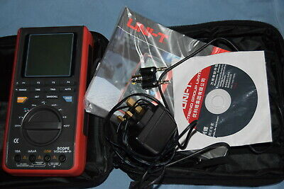 UNI-T UT81B Handheld Multimeter Oscilloscope LCD Display 8mhz Boxed with EXTRAS