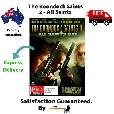 The Boondock Saints 2 - All Saints DVD Directed by Troy Duffy - Express Delivery