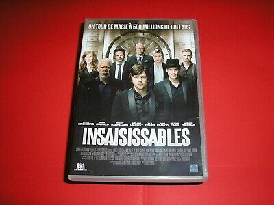 "DVD,""INSAISISSABLES"",eisenberg,ruffalo,harrelson,laurent,franco,caine,freeman,.."