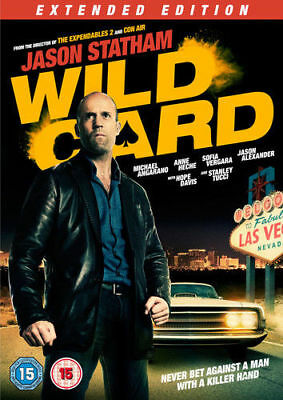 Wild Card: Extended Edition DVD New & Sealed