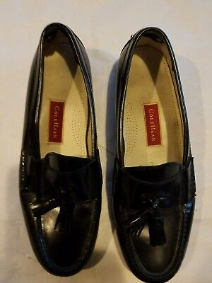 9e09d4b703c Reduced Cole Haan 03506 Pinch Grand Tassel Men s Black Leather Loafers ...