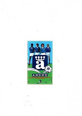 AUTOCOLLANT STICKER Vintage ANDRE CHAUSSURES FOOTBALL