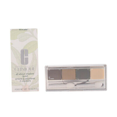 Maquillaje Clinique mujer ALL ABOUT SHADOW quad #05-on safari 4.8 gr