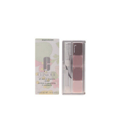Maquillaje Clinique mujer ALL ABOUT SHADOW quad #06-pink chocolate 4.8 gr