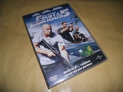 DVD-FAST AND FURIOUS 5-V-&-Diesel-Walker-Johnson-AZIONE-2011