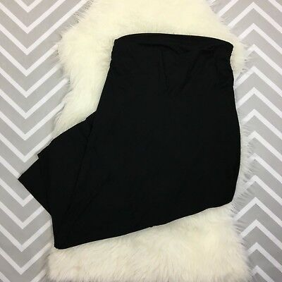 Old Navy Maternity Below Belly Maxi Skirt Womens Size Small Black Stretch
