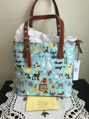 c40b137d6bf4 NWT 2017 Disney DOGS Dooney & Bourke Mint Emily Tote- Copper, Dalmations