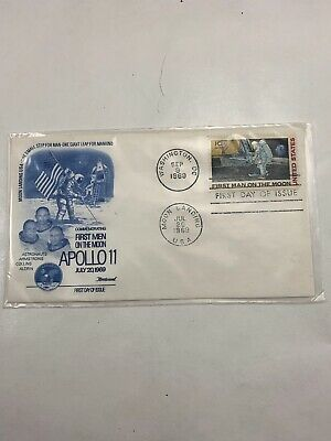 Apollo 11 First Day Issue July 20 September 9 1969 Moon Landing.