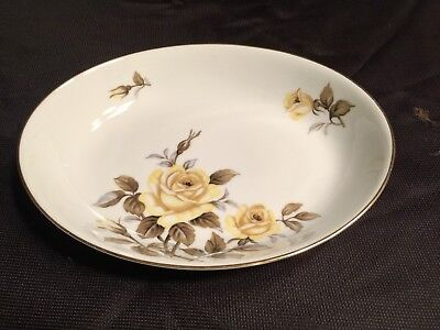 Harmony House Yellow Rose oval serving bowl 1 available