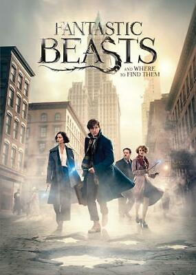Fantastic Beasts And Where To Find Them <Region 2 DVD, sealed>