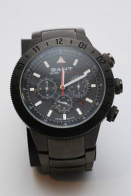 GANT Watch Luxury Titanium by Handskull (UK) *Unique* Sea Gate Black Metal Small