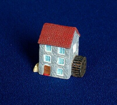 Thimble - Hand Painted Pewter - Mill