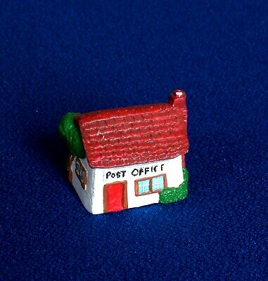 Thimble - Hand Painted Pewter - The Post Office
