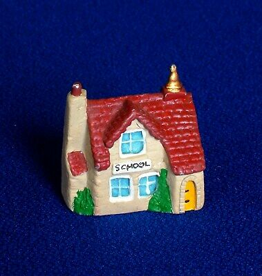 Thimble - Hand Painted Pewter - The Village School