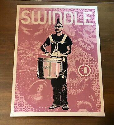 Shepard Fairey Obey Giant 2005 RARE Signed Numbered Screen Print banksy kaws
