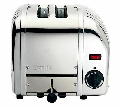 Dualit Vario 2 slice Extra Wide Slot Toaster 20245 New Current Model Ex display