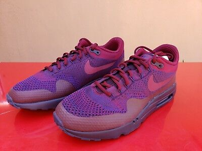 100% authentic a3a48 b1754 Nike Air Max 1 Ultra Flyknit Sz11 856958566 Purple Red