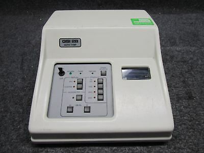 Grason-Stadler GSI 28 Auto-Tymp Tympanometer Middle Ear Tester with TDH-50P