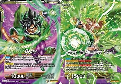 Broly // Broly, the Awakened Threat - P-092 - PR P-092  1 Dragon Ball Super