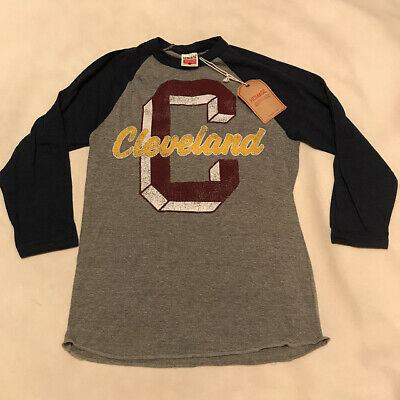 6eb28a4d1 HOMAGE BRAND CLEVELAND CAVS CAVALIERS T SHIRT Retro Throwback NBA ...