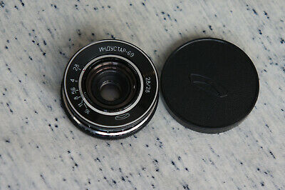 Industar-69 Russian Soviet USSR wide Lens 2.8/28mm M39 from Chaika camera