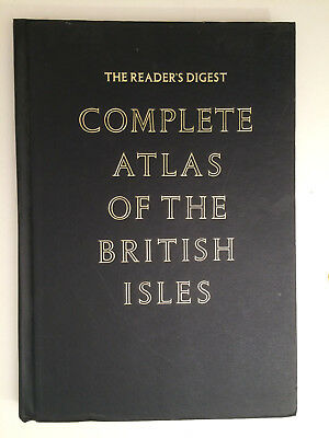 1965 Complete Atlas Of The British Isles Reader's Digest Maps Antique Maps    H4