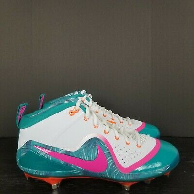 on sale 7ab45 6be39 Nike Force Zoom Trout 4 Miami Asg Limited Edition Baseball Cleats Men s  Sz 8-