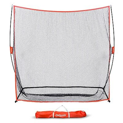 GoSports Golf Practice Hitting Training Net Huge 7x 7' Indoor Outdoor Garage Net