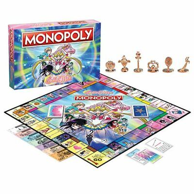 USAopoly NEW * Sailor Moon Monopoly * Officially Licensed Board Game Anime Manga