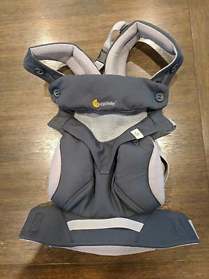 Ergobaby Four Position Cool Air 360 Mesh Carrier - Carbon Grey