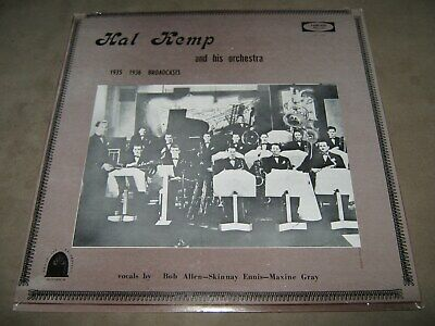 HAL KEMP and his Orchestra 1935-1936 Broadcast Skinnay Ennis SEALED New Vinyl LP