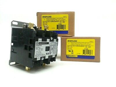 Qty 1 Square D Schneider Electric 8910DPA32V02 Definite Purpose Contactor